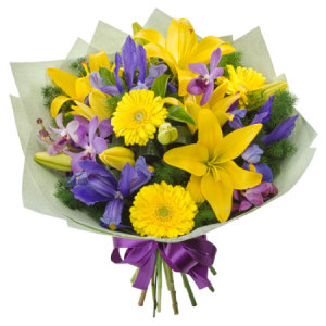 Bright mix bouquet- La Luna 370
