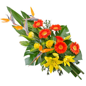 Lasting Tribute sheaf of flowers 423