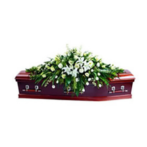 Traditional Casket flower arrangement 842